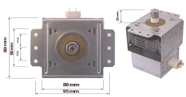 MAGNETRON GOLDSTAR 2M214-39F MAGNETRON 154