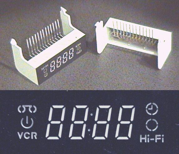 4 DIGIT VCR/HI-FI DISPLAY LED-DISPLAY002