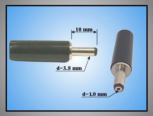 DC dugó L=29mm 3.8x1.0x10mm CSAT-P0038/10