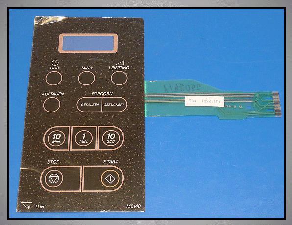 KEY MEMBRANE SAMSUNG M6148D MW-CONTROL 069D