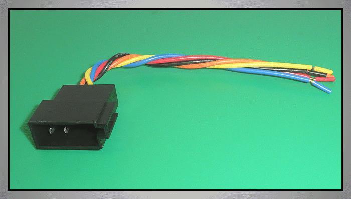 ISO 8p./5p. csatlakozó dugó CSAT-CAR0105P