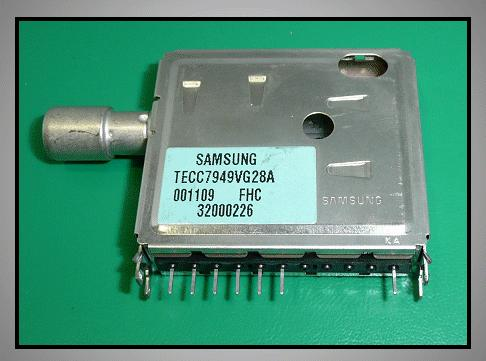 TV TUNER 6+1p. TECC7949VG28A TUNER 004-S70