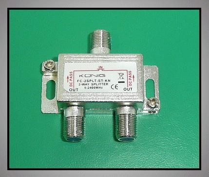 2 xelosztó 5-2400MHz DC iránycsatolt FC-502