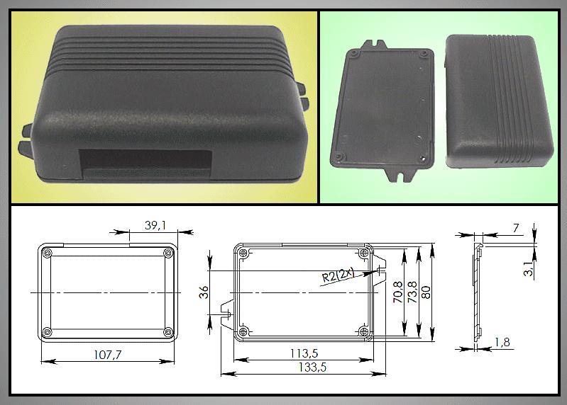 UNIVERSAL BOX 110x78x30mm BOX KM31N