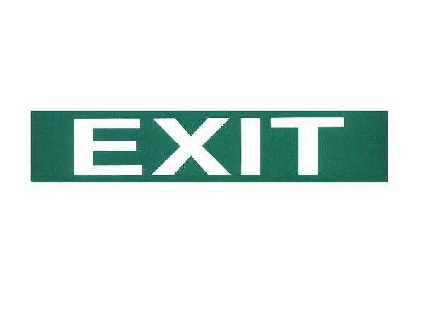 Vészvil. felirat-EXIT V-60956