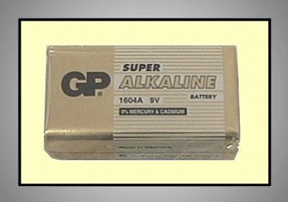 9V 6LF22 GP Alkáli tartós elem (fóliás) BAT 6LF22 GP.S