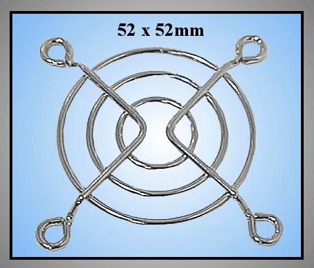 ventilátor burkolat 52x52mm CYP B-052