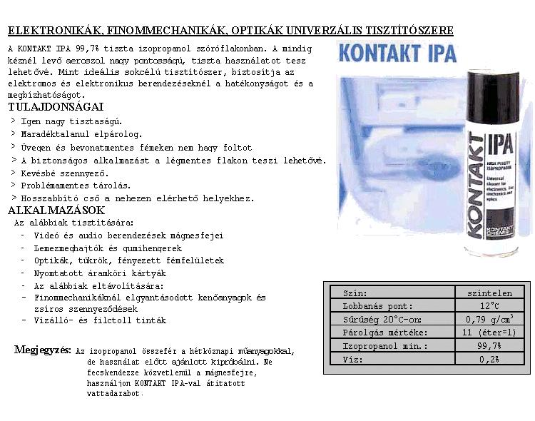 SPRAY ISOPROPANOL 200ml IPA/200