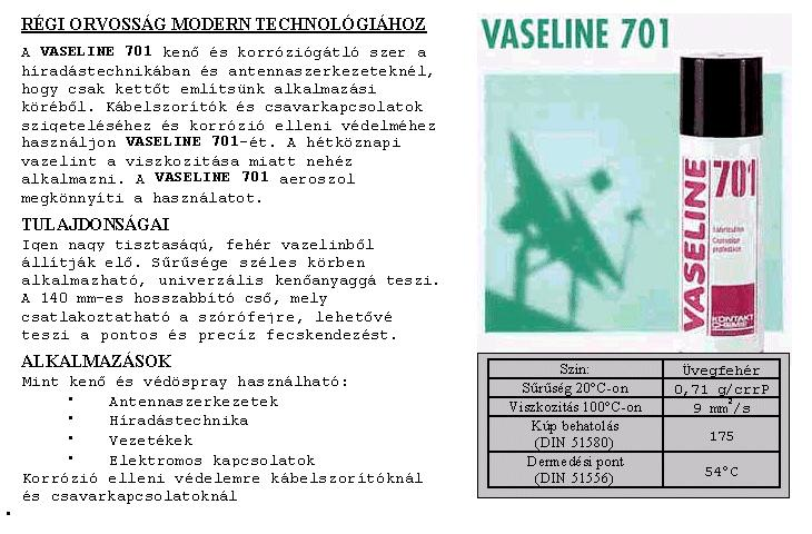 SPRAY: VASELIN 701 200ml 701/200