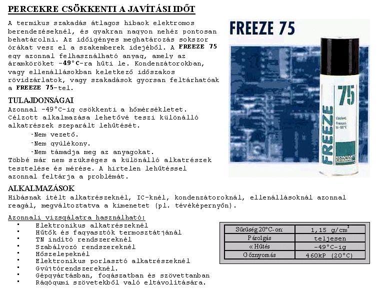 SPRAY: KALTE 75 400ml 75/400