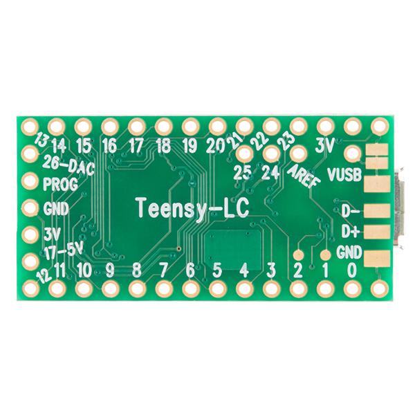 TEENSY LC Fejlesztői környezet KIT TEENSY LC -
