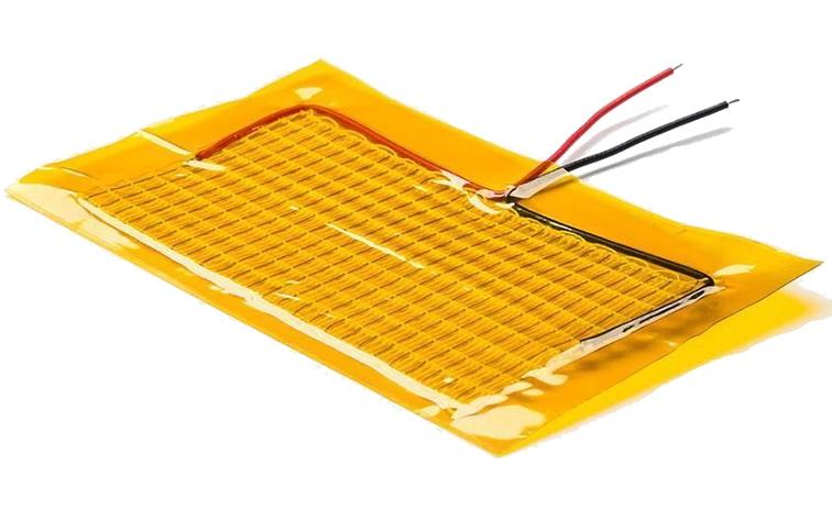 Elektromos fűtőszövet kapton szigeteléssel Heatpad 10x5cm
