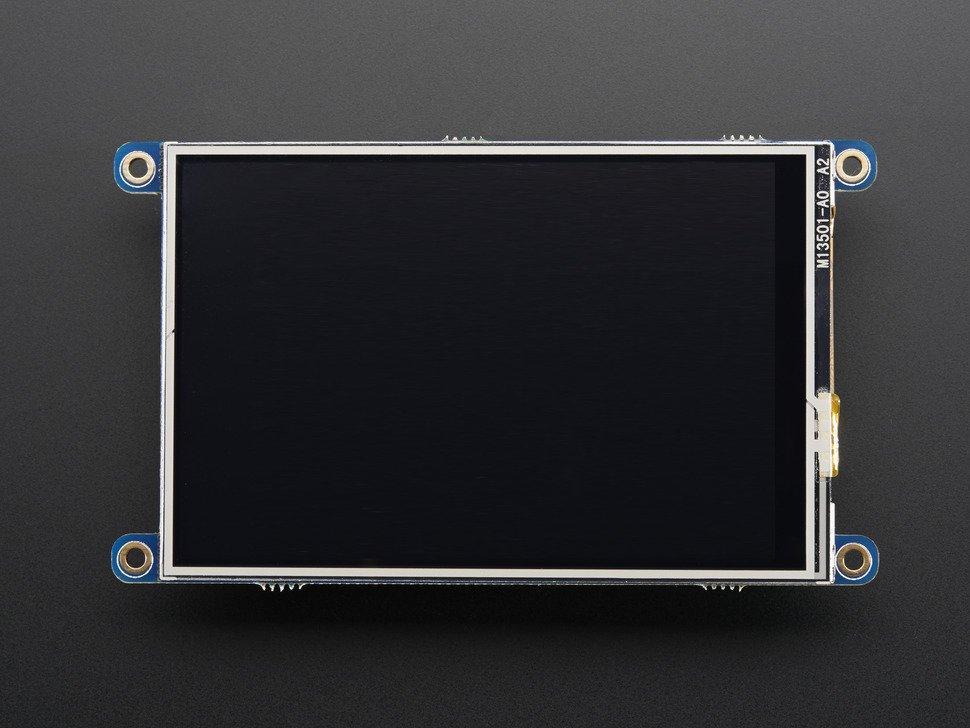 PiTFT 480x320 3.5inch érintőkijelző modul KIT PITFT/480x320