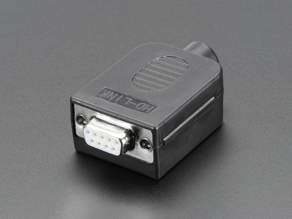 D-SUB 9p. anya házzal sorkapcsos CS-DS009T/F -