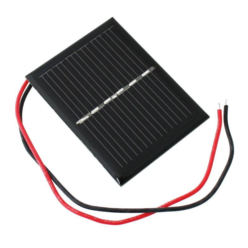 Napelem 3V 100mA 60x48x3mm Solar cell 3V 100mA