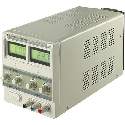 230VAC -> labor tápegység 0...30Vdc / 0...3A 45W P.SUP.AS1003/3