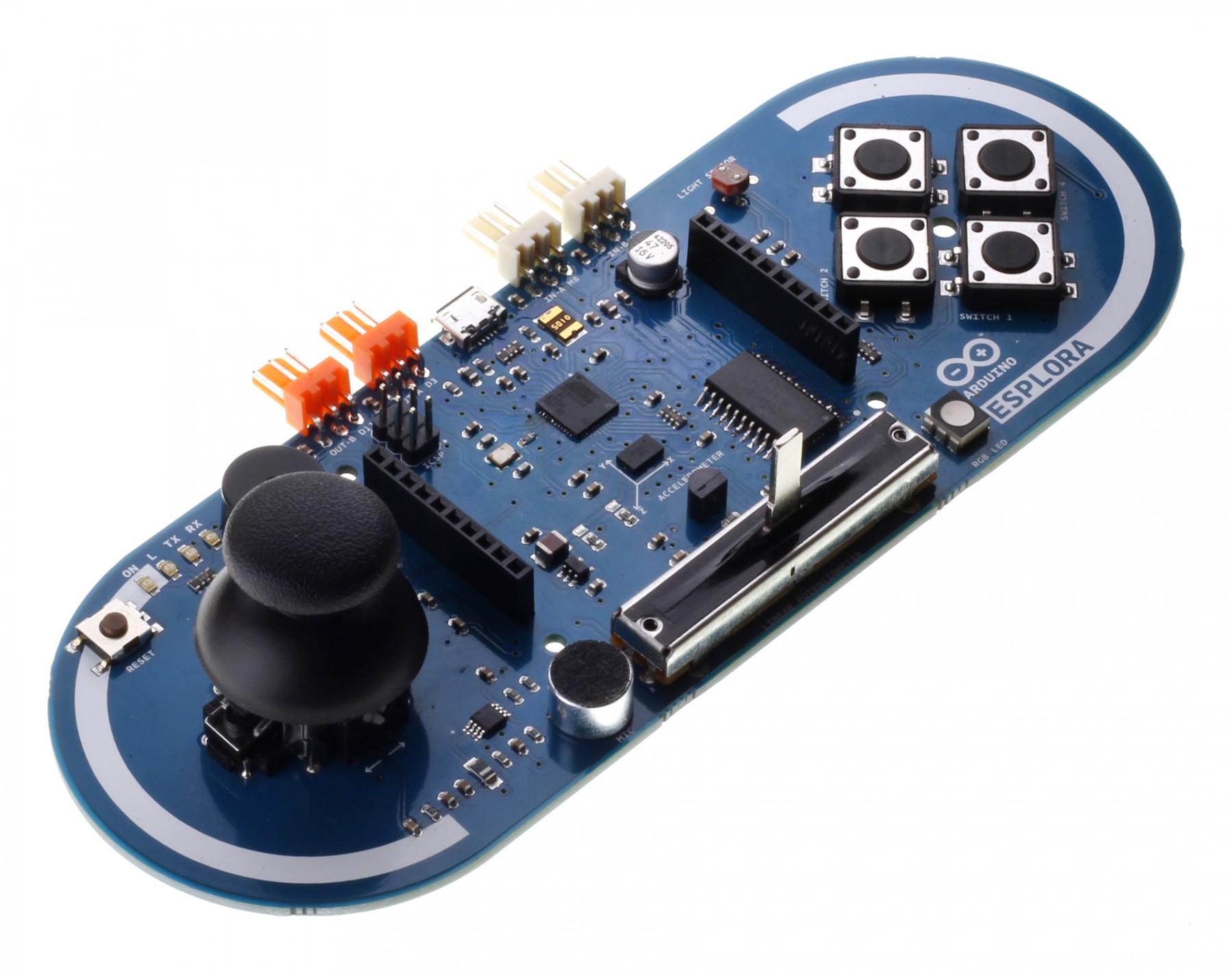 Arduino Esplora Fejlesztői környezet KIT Arduino Esplora