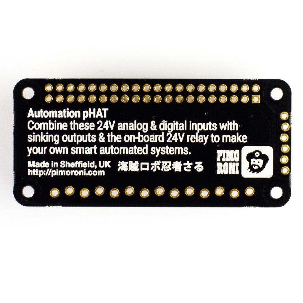 Raspberry Pi Automatizálási fejlesztő kiegészítő eszköz KIT Automation pHat