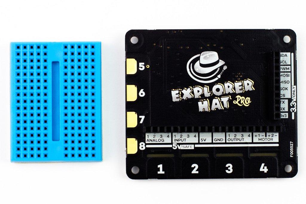 Mini próbapanel és IO modul kiegészítő Raspberry Pi-hez KIT Explorer Hat