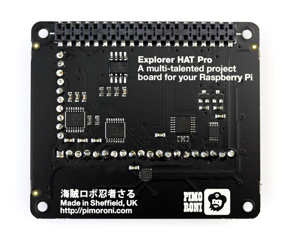 Mini próbapanel és IO modul kiegészítő Raspberry Pi-hez KIT Explorer Hat -