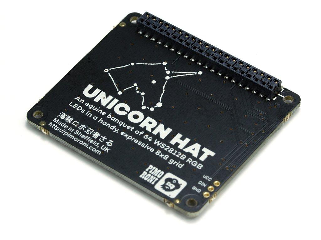 Raspberry Pi RGB led modul 64 led KIT Unicorn Hat