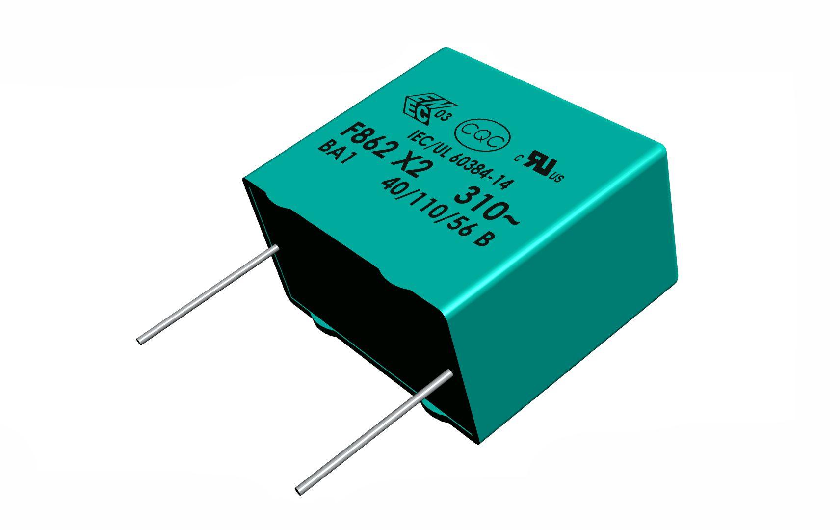 X2 kondenzátor 1,2uF 310VAC 10% RM-22.5 C 1U2 AC310 X2 22
