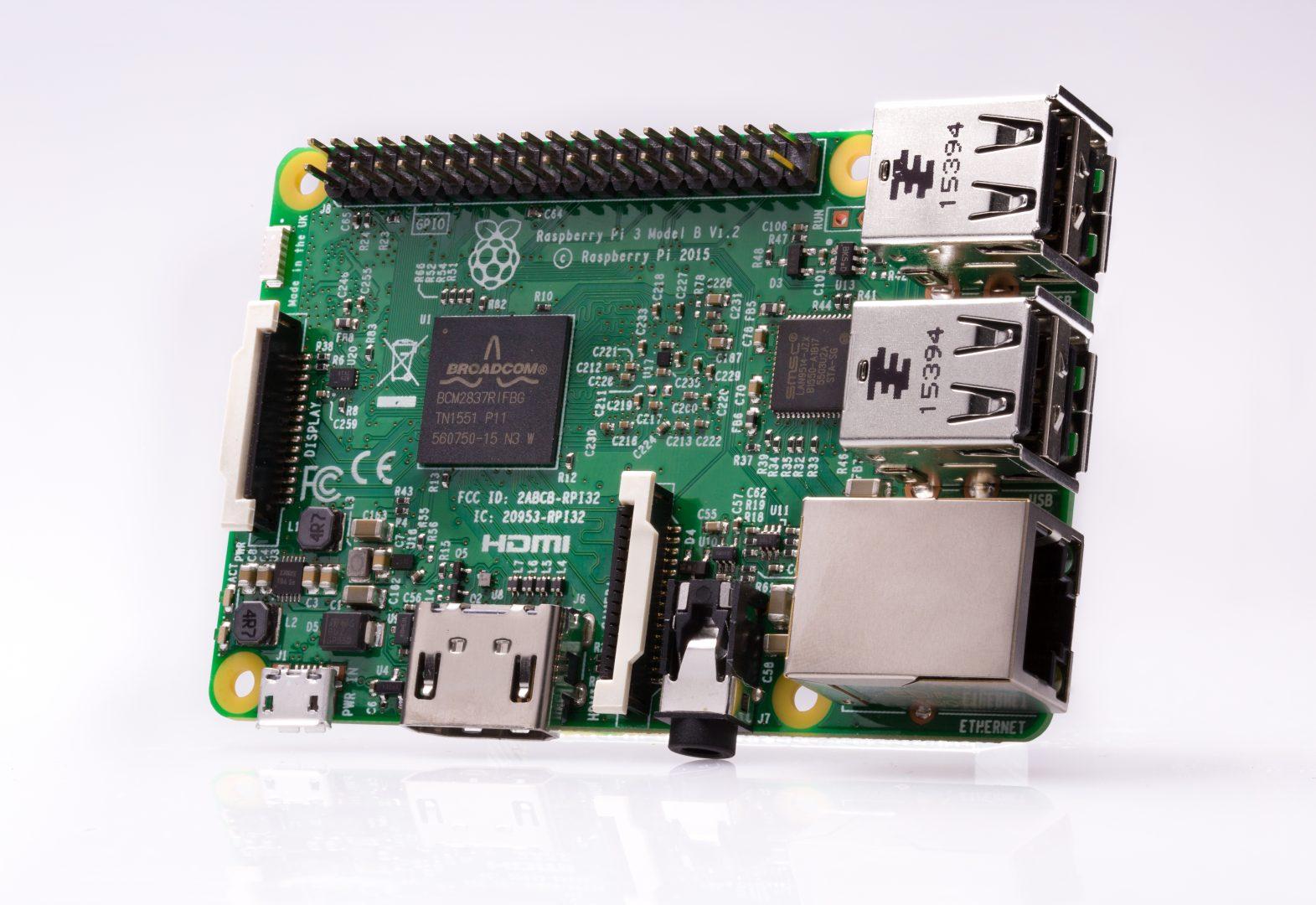 Raspberry Pi 3 B számítógép Raspberry Pi 3 B