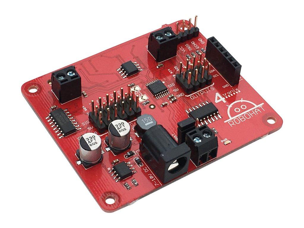 Raspberry Pi robotika vezérlő modul KIT Robohat