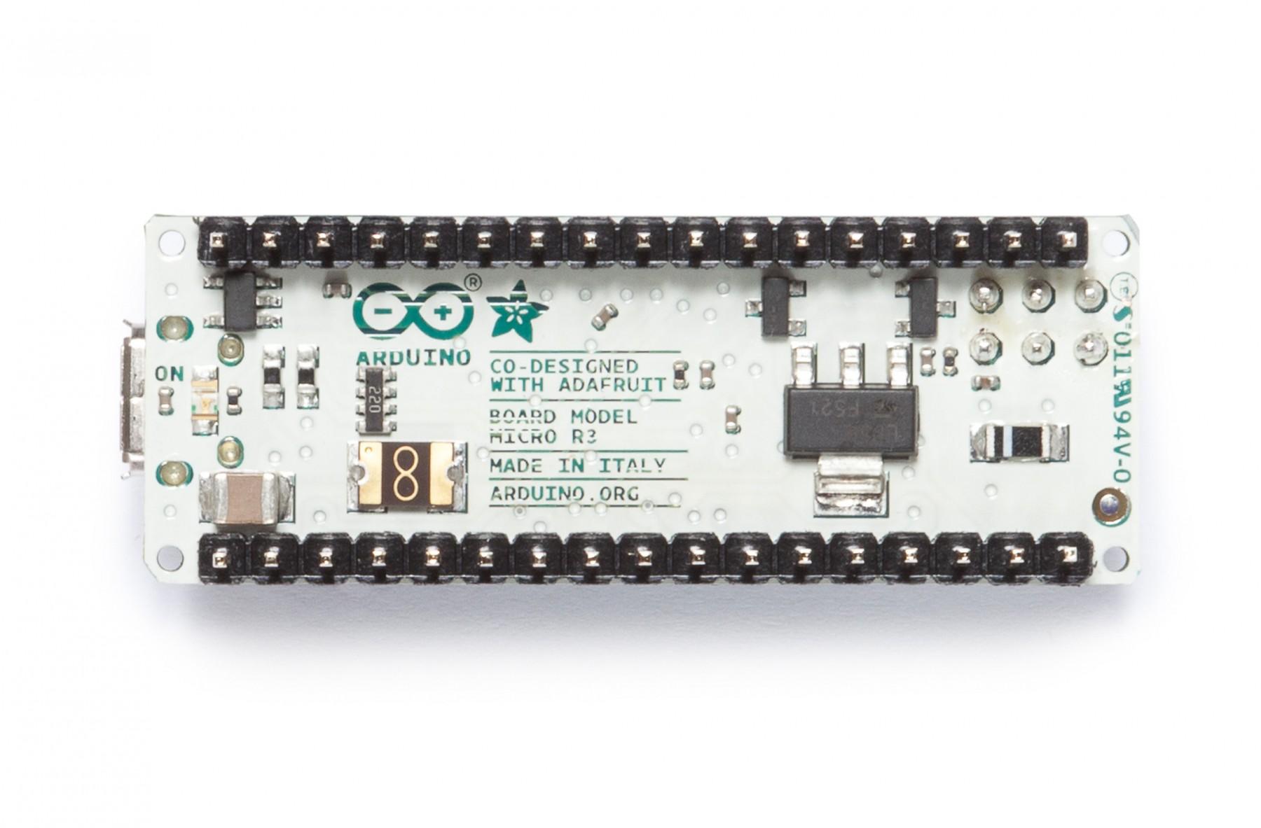 Arduino Micro Fejlesztői környezet KIT Arduino Micro -