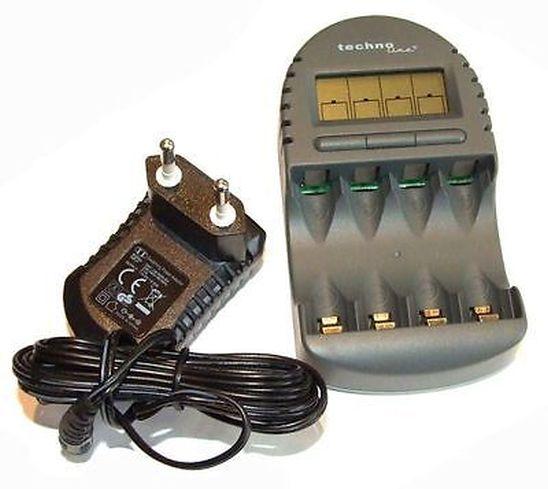 Mikroprocesszoros Ni-MH AA AAA töltő 450mA BC-450 ACCU CHARGER-02