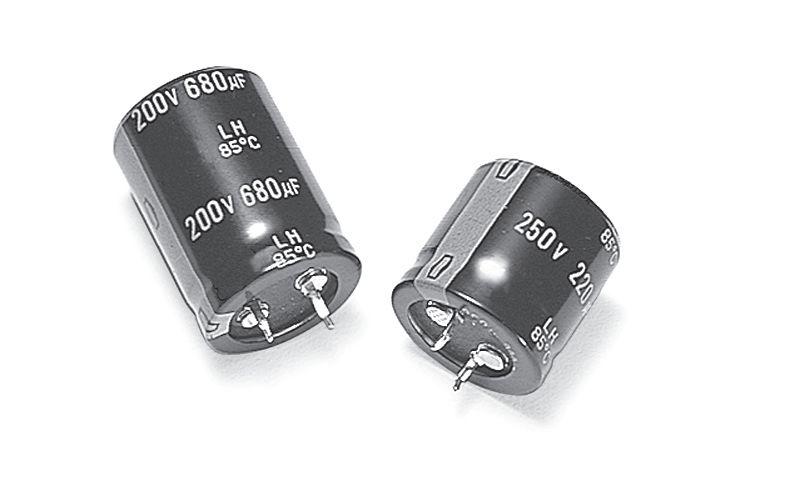 ELKO 2200uF 200V 85°C 35x45 Snap-In 2200/200P 35X45
