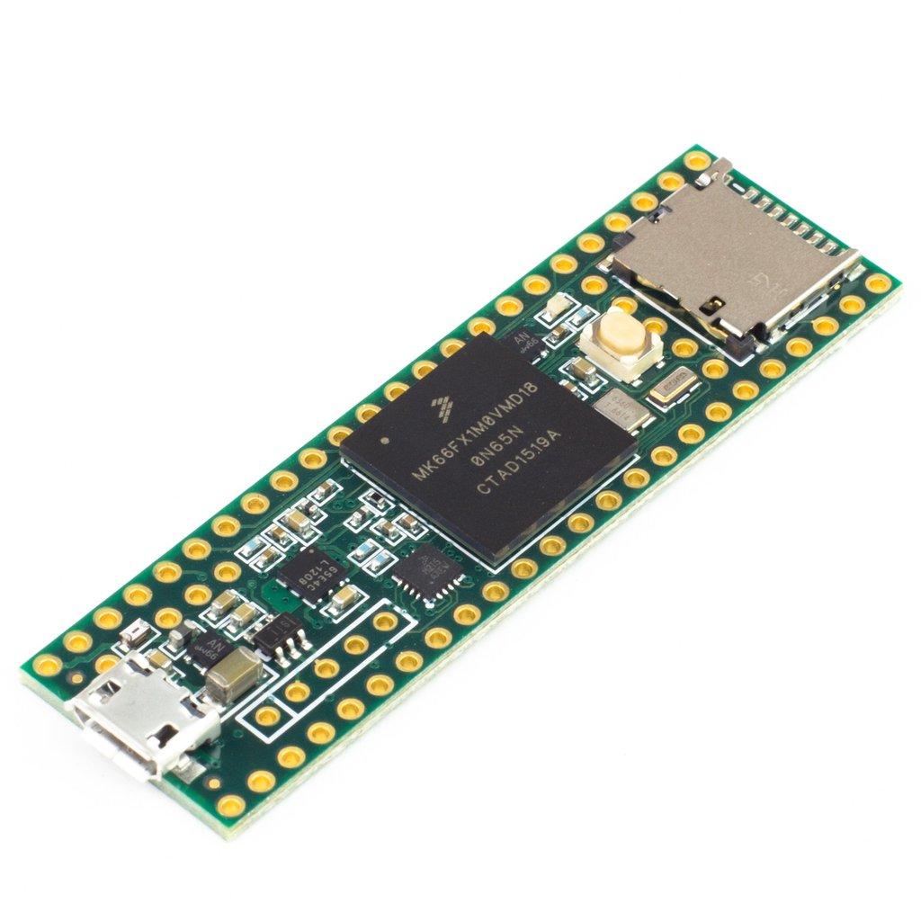 Teensy 3.6 mikrokontrolleres fejlesztő eszköz KIT Teensy 3.6