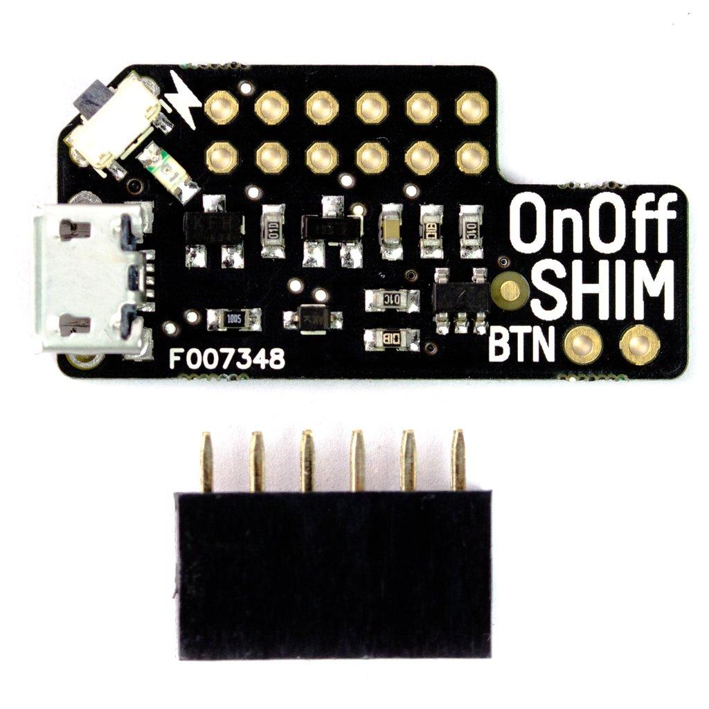 Raspberry Pi Kapcsoló modul - biztonságos On - Off KIT OnOff SHIM