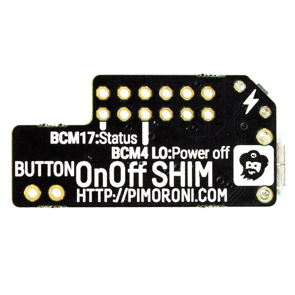 Raspberry Pi Kapcsoló modul - biztonságos On - Off KIT OnOff SHIM -