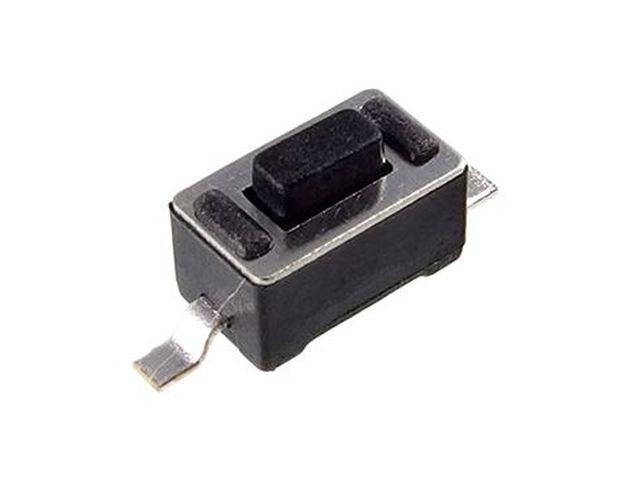 Mikrokapcsoló 6x3.5mm 2p. SMD gomb:0.8mm (nyomó erő:160g) SW100632/008-SMD