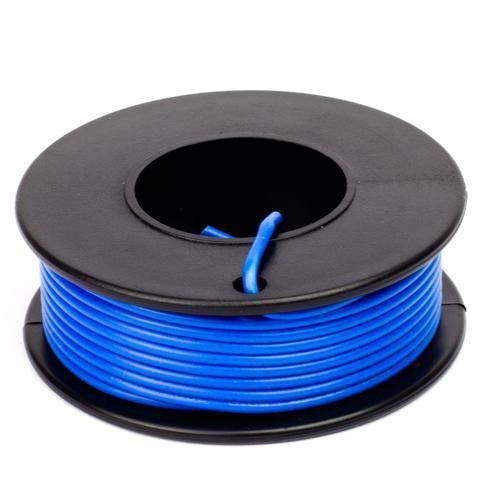 Kék szigetelésű egy eres előónozott forrasztható vezeték 0.35x7.5m CABLE ROLL BLUE