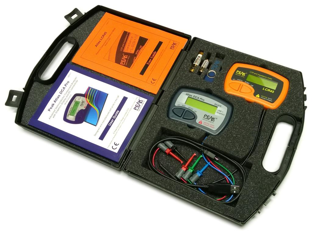 Atlas Pro Pack (LCR45 + DCA75 + ház + külön elem) M.M PEAK ATPK3