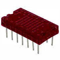 Pont mátrix LED Kijelző, piros 36 LED LTP-305HR