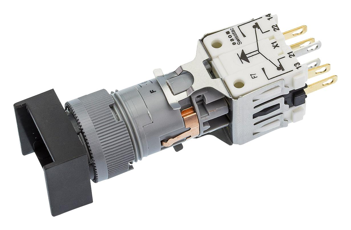 kapcsoló UP/DOWN 1x4p. 250V 6A +2p. lámpa foglalat SW11101F
