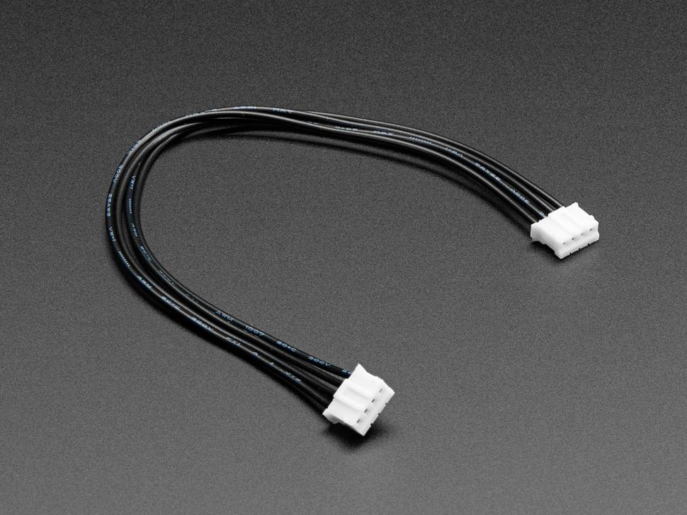 4 pólusú JST-PH csatlakozóval szerelt kábel 15cm - dugó - dugó Cable-PH04AA