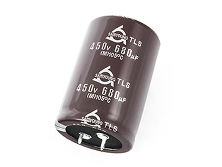 ELKO 680uF 450V 105°C 35x50 Snap-In 2p. 680/450P-105