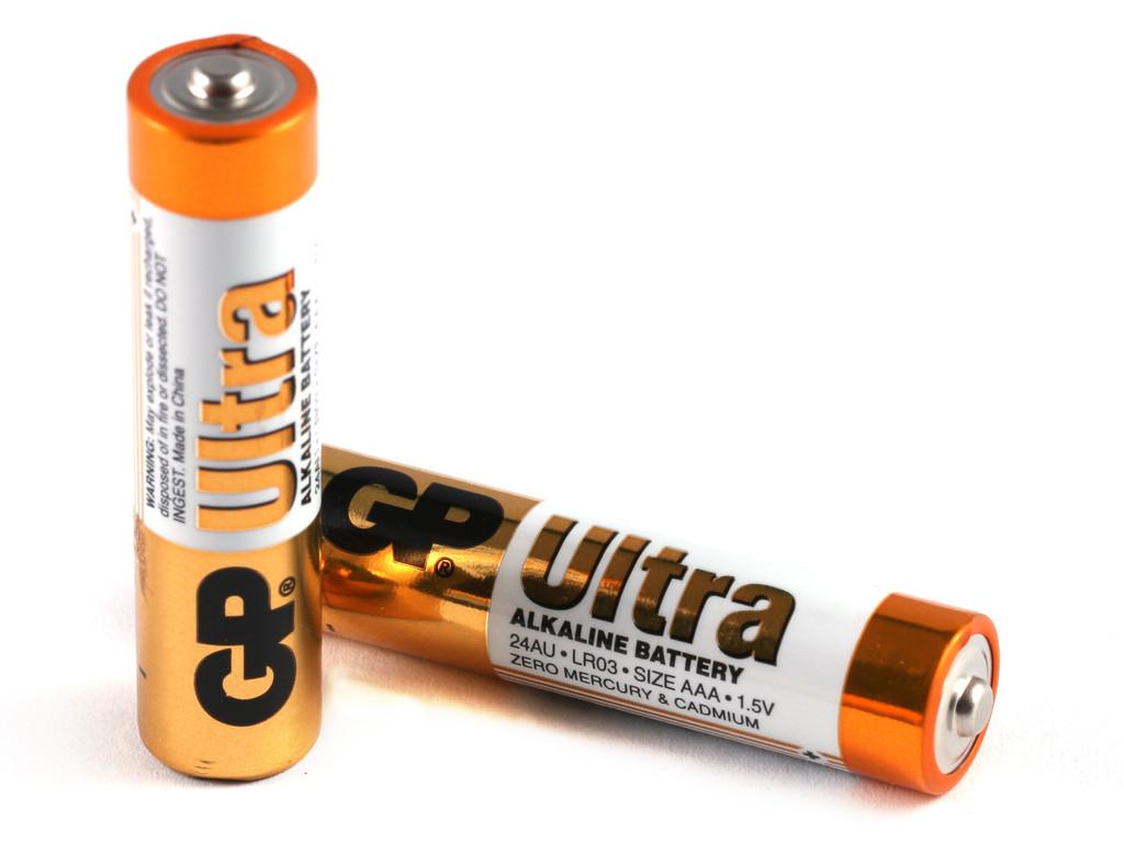 1.5V 2db LR03 AAA Ultra Alkáli elem (fóliás) BAT LR3/2 GP.UF