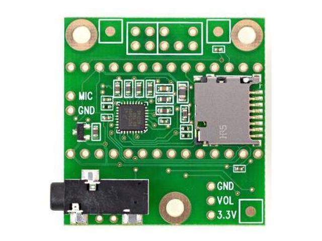 Audio Adaptor Board for Teensy 3.0 - 3.6 KIT TEENSY3AUDIO