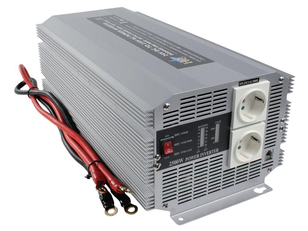 12VDC -> 230VAC 2500W inverter (trapéz) P.SUP.INV2500W1