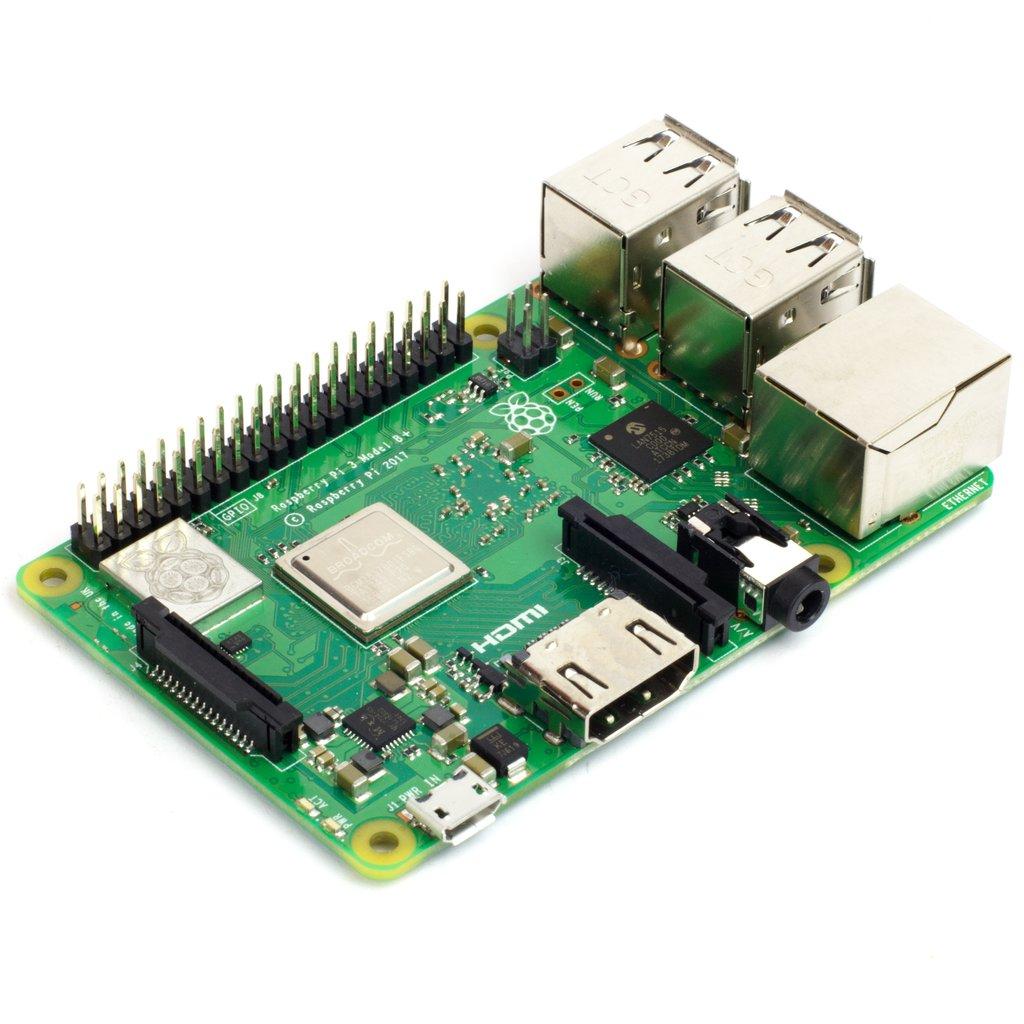 Raspberry Pi 3 B+ számítógép / PI 3 B Plusz Raspberry Pi 3 B+