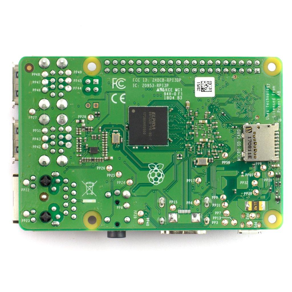 Raspberry Pi 3 B+ számítógép / PI 3 B Plusz Raspberry Pi 3 B+ -