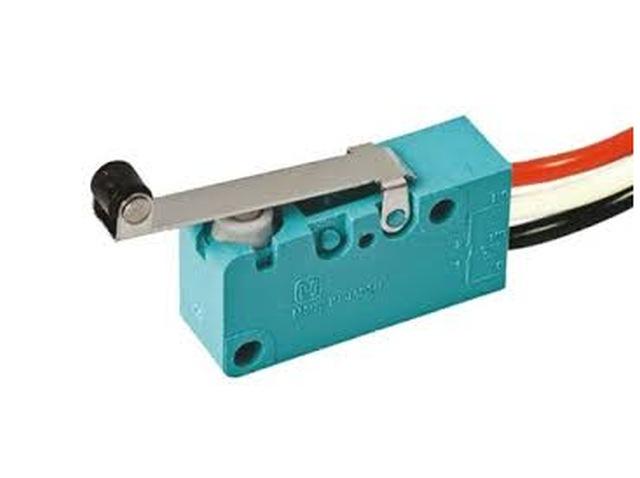 Mikrokapcsoló ON-(ON) 3p. 33x16x10mm (vezetékes) SW11512LKGH