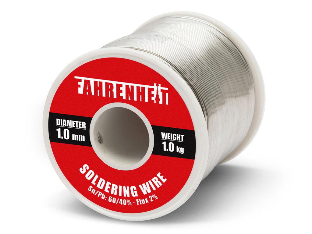 Forrasztó ón 1mm Sn60/Pb40% 1kg Flux 2.0% TIN 1000GR 1.0/2.0