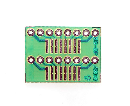 FR4 Multiadapter panel DIP/SO 8p...16p. PP-SMD-DIP10