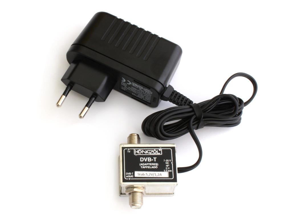 Antenna tápegység, tápfeladó 5,2V 1,2A ANT PWR02K